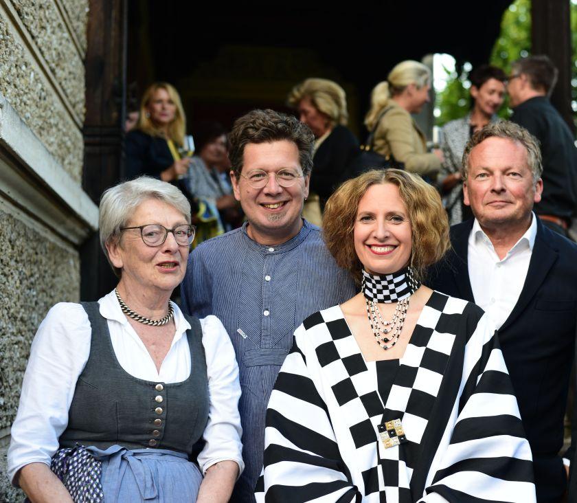 Stimmungsvolle UrauffŸhrung mit Maxi Blaha als Emilie Flšge an Klimts 155. Geburtstag